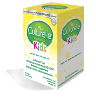 Culturelle® Kids Purely Probiotic Packets Hospital Pack Right Side of Box