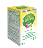 Culturelle® Kids Purely Probiotic Packets Hospital Pack Left Side of Box