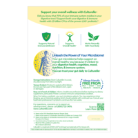 Back of Culturelle® Vegetarian Health and Wellness (Health Food) Box