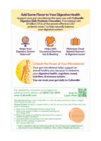 Back of Culturelle® Digestive Daily Probiotic Chewables Package