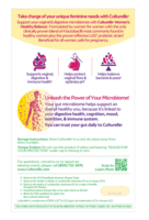 Culturelle® Women's Healthy Balance Back of Package