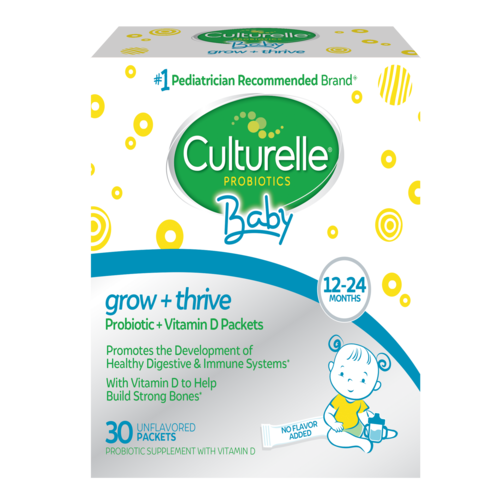 Culturelle baby grow and thrive packets product box