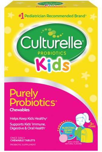 Culturelle® Probiotics Kids Daily Probiotic  Berry Chewables