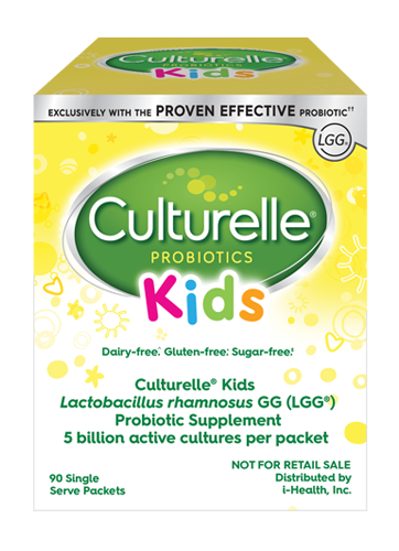 Culturelle® Kids Purely Probiotic Packets Hospital Pack front of package