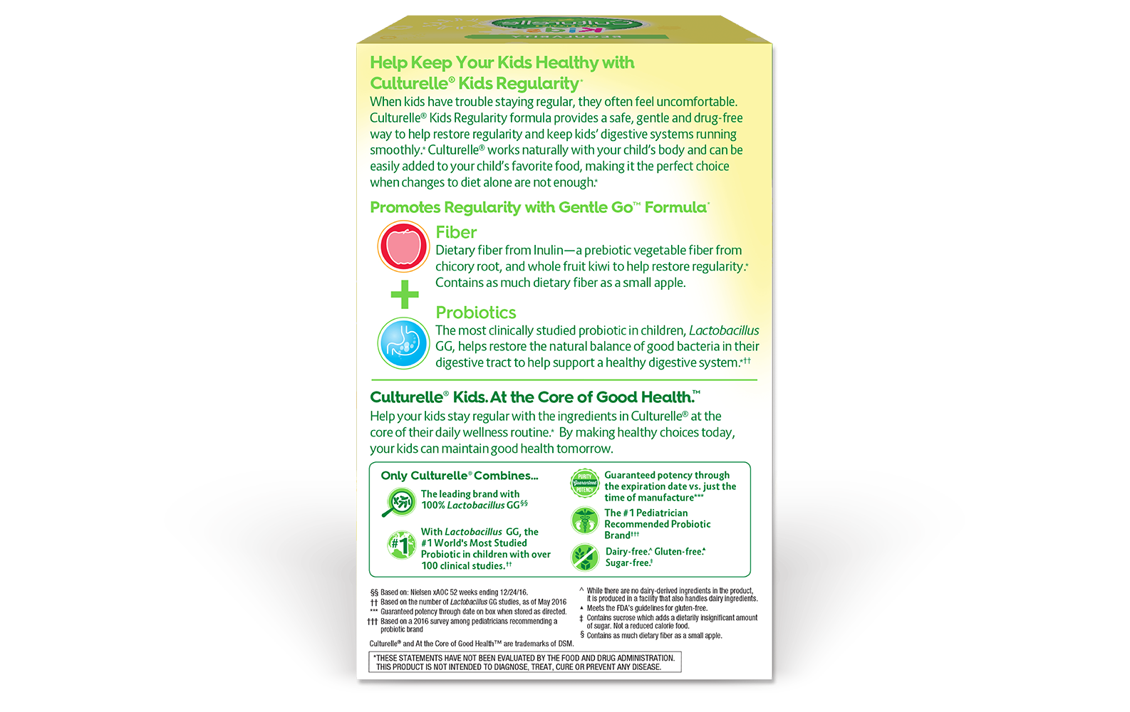 Kids Digestive Health And Regularity Culturelle 174